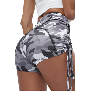 Lace-up Camouflage Skinny Yoga Pants. YP-028
