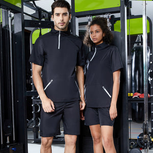 Couple's Short Sleeve Sauna Suit. SS-002