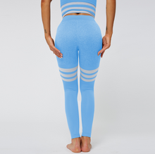 Load image into Gallery viewer, Fashion Striped Sports Yoga Pants. YP-007