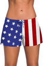 Load image into Gallery viewer, Women's low waist lace up swimming shorts beach holiday sexy Boxers. SW-013