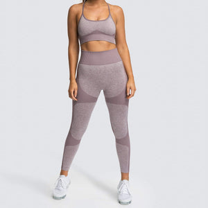 Vest Leggings Fitness Yoga Suit. YS-025