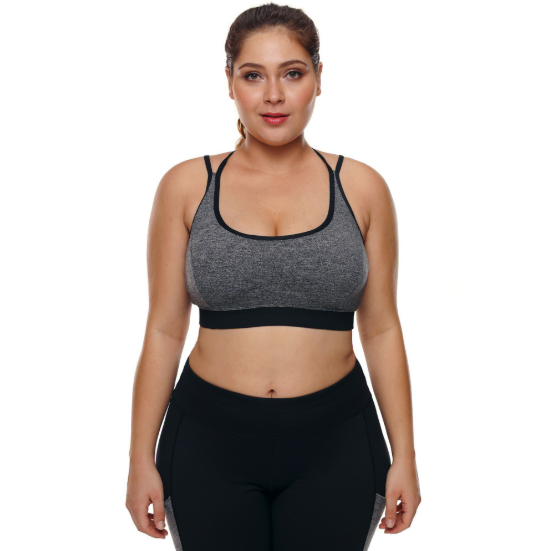 Fat Girl Sports Bra Plus Size. SA-005
