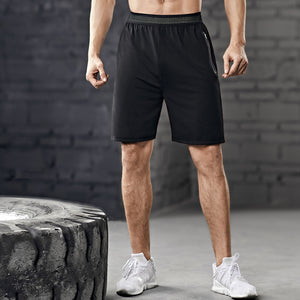 Large size sports leisure fitness shorts, men's breathable sweat-absorbent quick-drying five-point pants. SR-02M
