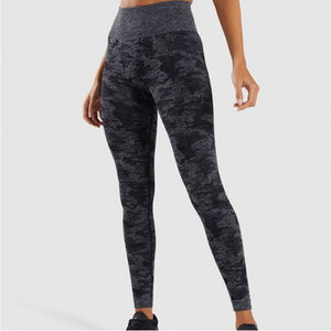 Women's Long Camouflage Yoga Fitness Pants. YP-122