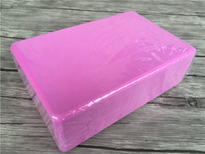 180g yoga brick solid color high density EVA material. FA-007