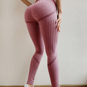 Seamless high-stretch yoga pants, high-waist skinny track pants, and tummy control leggings track pants. YP-001