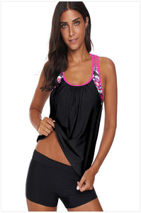 Tank Top Split Conservative Swimsuit.SW-014