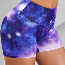 Load image into Gallery viewer, Printed Breathable Yoga Shorts. YP-055