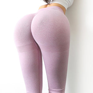 Seamless Knitted Hip Yoga Leggings. YP-078