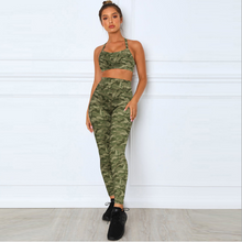 Load image into Gallery viewer, Camouflage Sling Ashram Yoga Wear. YS-054