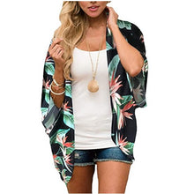 Load image into Gallery viewer, Ladies Leisure Beach Chiffon Sunscreen Blouse. SW-036