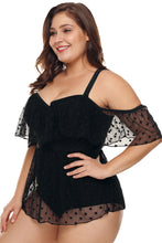 Load image into Gallery viewer, Plus Size Hot Spring Strapless Swimwear. SW-012