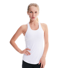 Load image into Gallery viewer, Solid Color Yoga Vest with Chest Pad. YT-006