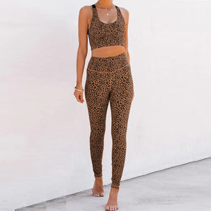 Best Leopard Yoga Wear for Hot Yoga Suit. YS-060