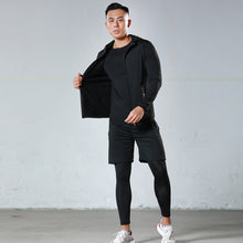 Load image into Gallery viewer, Men's new five-piece fitness suit, tight-fitting workout clothes can be worn in all seasons. SR-09M