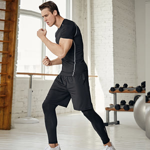 Men's Quick-drying Sportswear Three-piece Suit. SR-05M