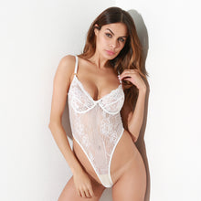 Load image into Gallery viewer, Ladies Net Yarn One-piece Sexy Underwear. UW-015