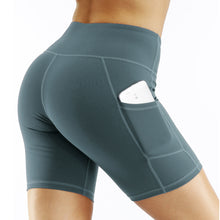 Load image into Gallery viewer, Ladies Side Pocket Quick-drying Yoga Shorts. YP-102