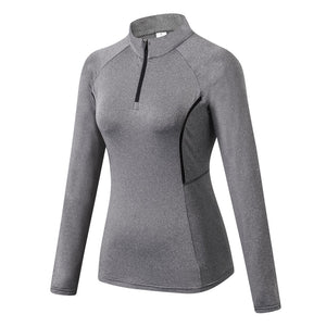 High Stretch Long Sleeve Sports Sweatshirt. SR-03W