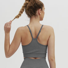 Load image into Gallery viewer, Navel Bare Sports Running Yoga Bra. YT-026