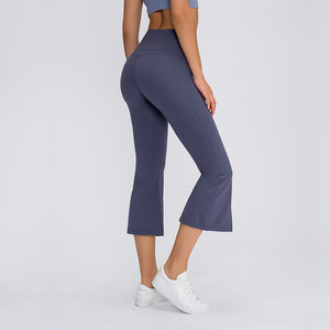 Stretch Fitness Wide-leg Pants Flared Pants. YP-012