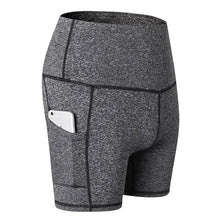 Load image into Gallery viewer, Stretch Yoga Shorts with Pockets. YP-065