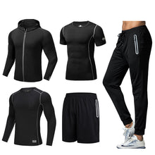Load image into Gallery viewer, Men's Quick-drying Sportswear Five-piece Suit. SR-01M