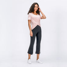 Load image into Gallery viewer, Stretch Fitness Wide-leg Pants Flared Pants. YP-012