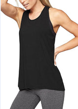Load image into Gallery viewer, Cross Stretch Yoga Vest T-shirt. YT-024