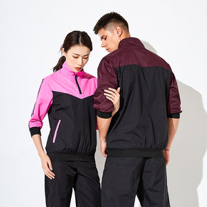 Sportswear for couples, summer sportswear for men and women fitness training. SS-005