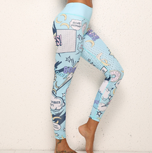 Load image into Gallery viewer, Printed Cartoon Yoga Clothing Suit. YS-002