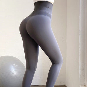 Super High Waist Breasted Belly Yoga Pants. YP-110