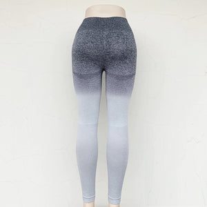 Gradient Color Skinny Stretch Yoga Pants. YP-108