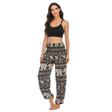 Load image into Gallery viewer, Bohemian Style Thai Elephant Yoga Bloomers. YP-101