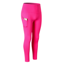 Load image into Gallery viewer, Ladies Pocket Skinny Long Yoga Pants. YP-094