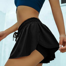 Load image into Gallery viewer, Women's Anti-glare Two-piece Yoga Shorts. YP-132