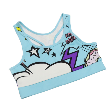 Printed Cartoon Yoga Clothing Suit. YS-002