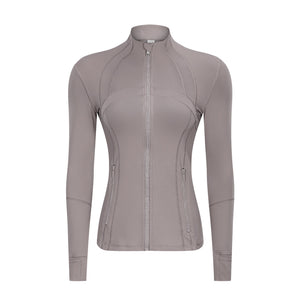 Slim-fit Stretch Long Sleeve Sports Jacket. YT-016