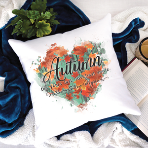 Autumn Last Loveliest Pillow