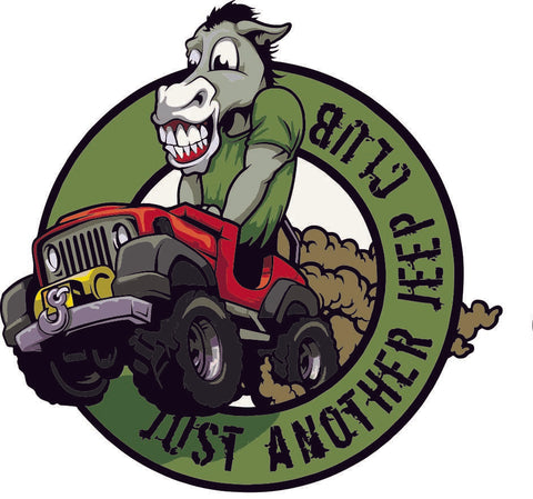 Just Another Jeep Club Decal