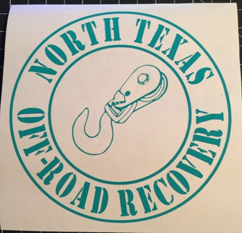 NTOR \ North Texas Off-Road Recovery Decal