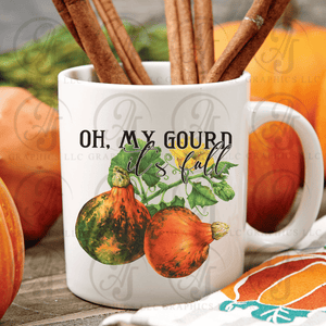 Oh My Gourd It's Fall Coffee Mug