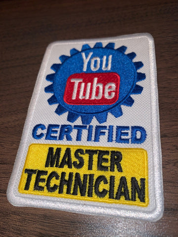 Youtube Certified Master Technician