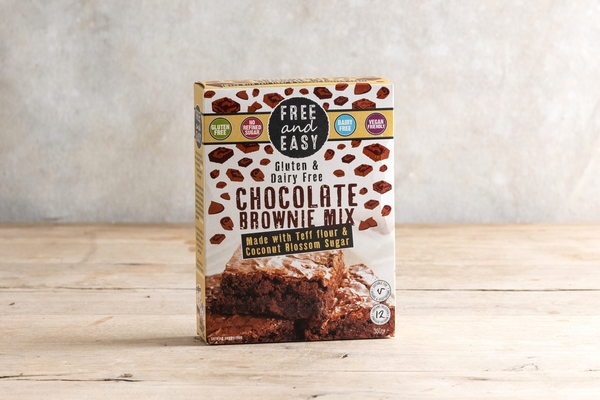 Free & Easy Chocolate Brownie Mix