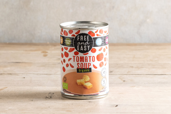 FREE AND EASY Organic Tomato Soup 400g