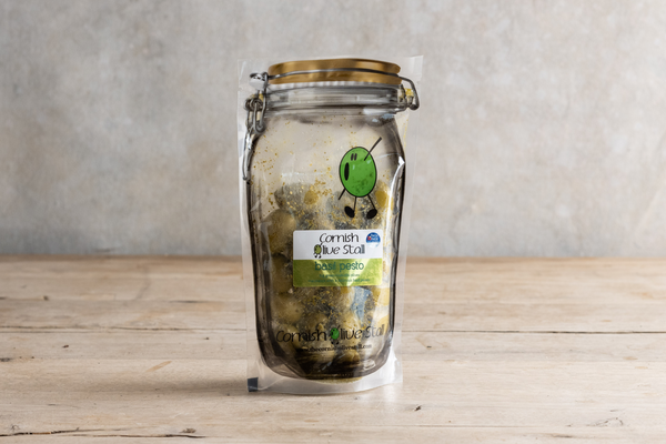 Cornish Olive Farm Basil Pesto Olives