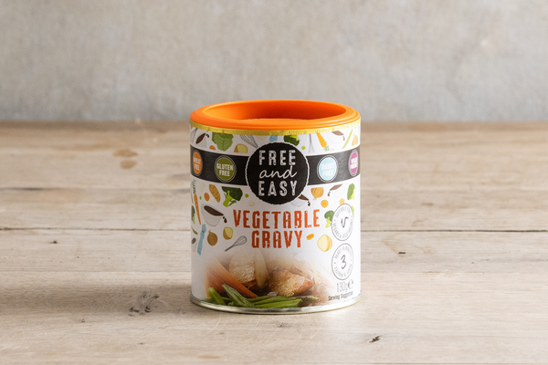 FREE AND EASY Vegetable Gravy 130g