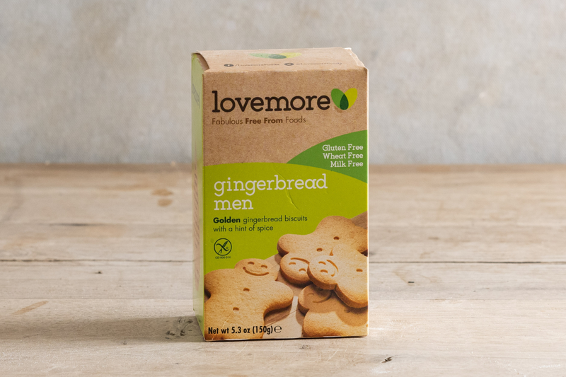 Lovemore Gingerbread Men 150g