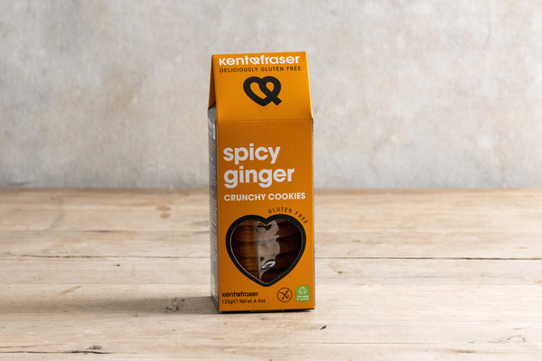 Kent & Frasher Spicy Ginger Crunchy Biscuits