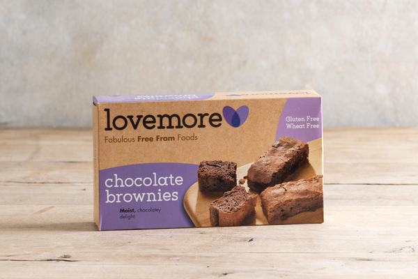 Lovemore Free From Chocolate brownies